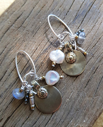 Pearly Cluster earrings