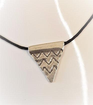 Thai Hilltribe Silver Pendant