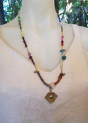 Fine Semi Precious Stone Necklace