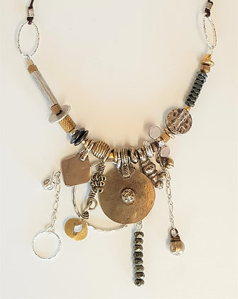 Fine Mix Metal Necklace