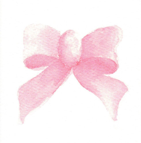 Pink Bow Gift Card