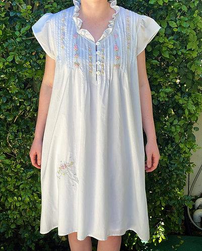 The Antoinette Blue Nightdress