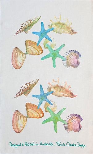 Shells Tea Towel