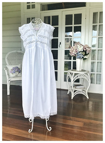 Heirloom Lace Nightdress
