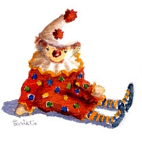 Clown Gift Card
