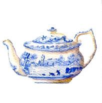 Blue Teapot Gift Card