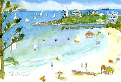 Mooloolaba Greeting Card