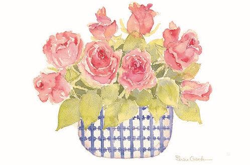 Susie's Roses Greeting Card