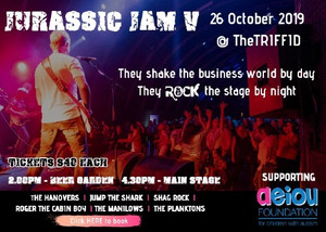 One More Time at The Triffid - Jurassic Jam V - 26 Oct 2019