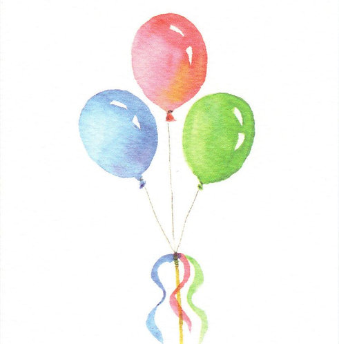 Balloon Bunch Gift Card
