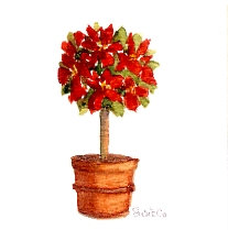 Red Topiary Gift Card