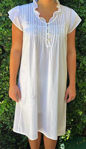 The Antoinette White Nightdress in 2 Designs