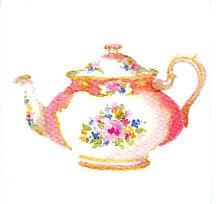 Pink Teapot Gift Card
