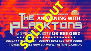 An Evening With The Planktons - SOLD OUT