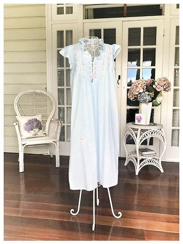 The Antoinette Blue Nightdress - 2 Designs