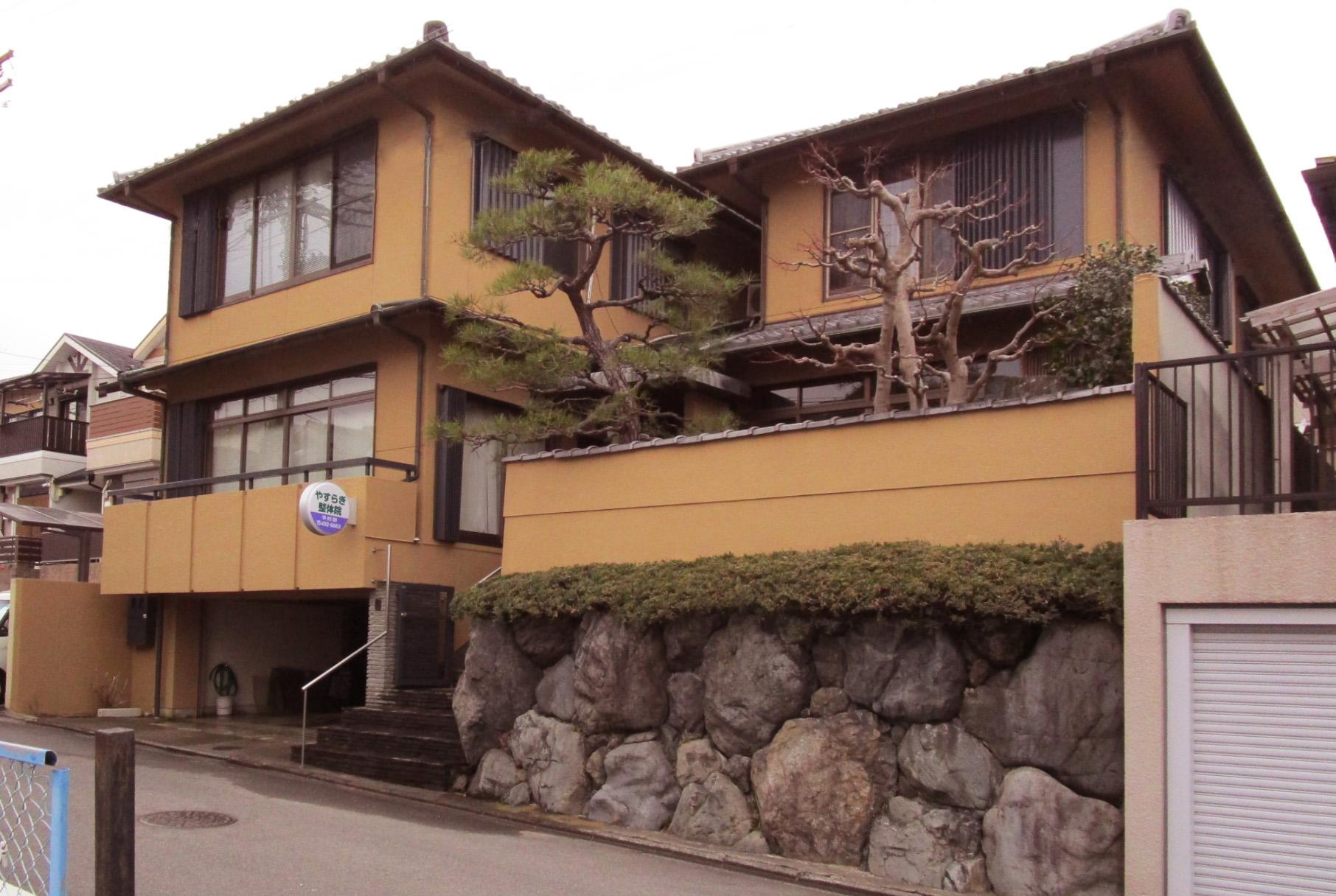 京都市北区 外部メンテナンス工事