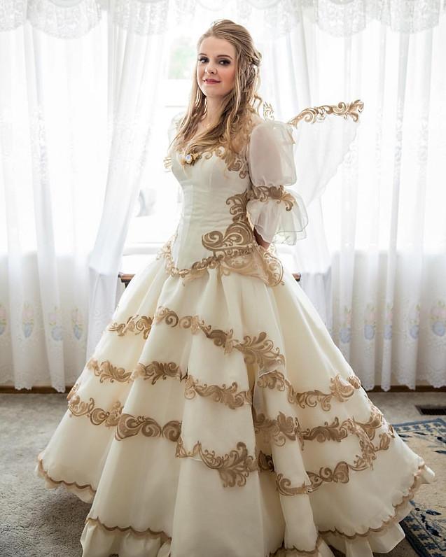 Craft hackers get your craft on for Legend of zelda wedding dress