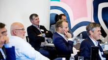 Billede fra investormøde i Odense