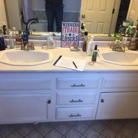 Homewood Bathroom Before