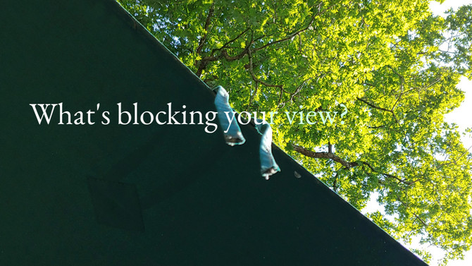 What's blocking your view?