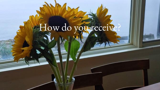 How do you receive?