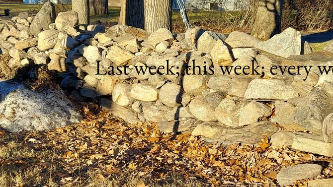 Last week, this week, every week.