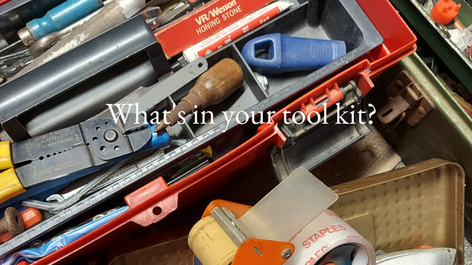 What's the condition of your tool kit?