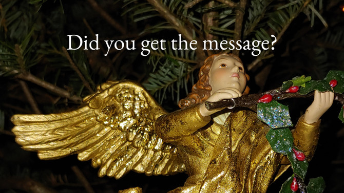 Did you get the message?