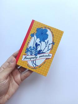 floriography postcards