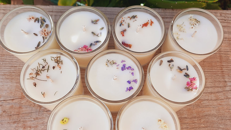 Kit Discovery Mini candles