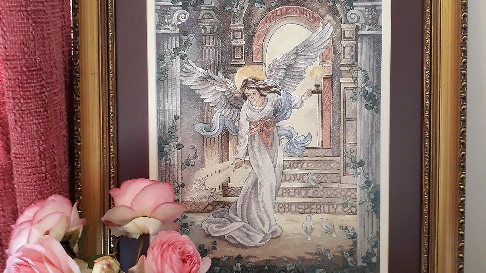 Cross stitch - Angel