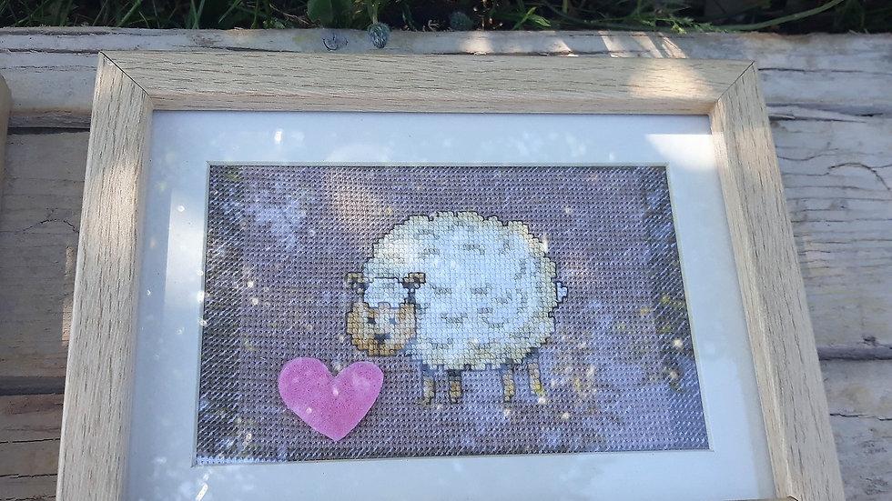 Cross stitch - Sheep