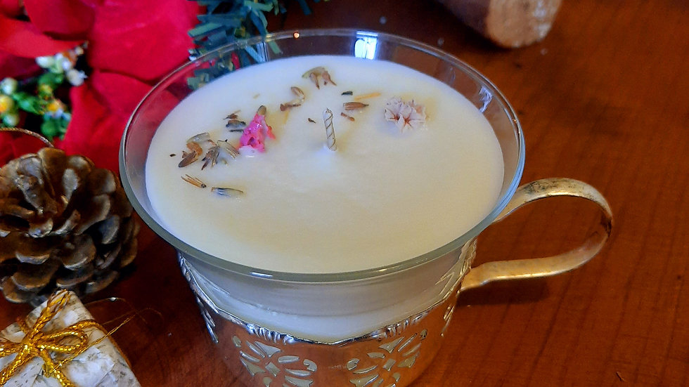 Feel the beauty Vintage Candle