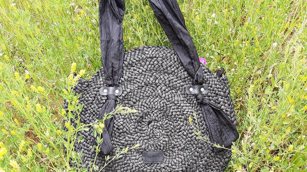 Black Round bag