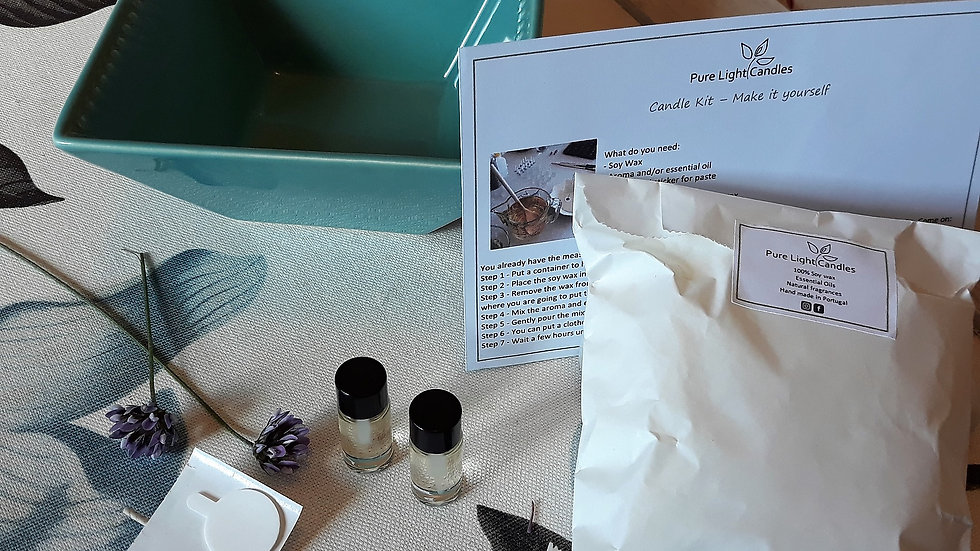Candle Kit 6 - Make it yourself