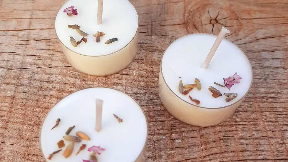 Feel the simplicity Tealights