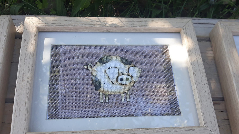 Cross stitch - Pig
