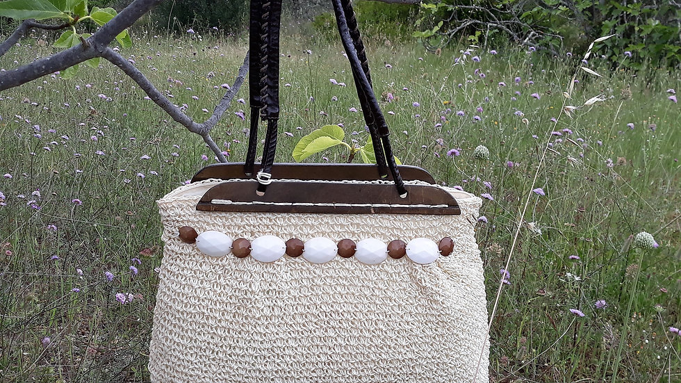 Paper straw bag