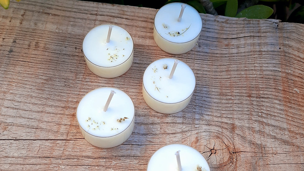 Feel the silence Tealights