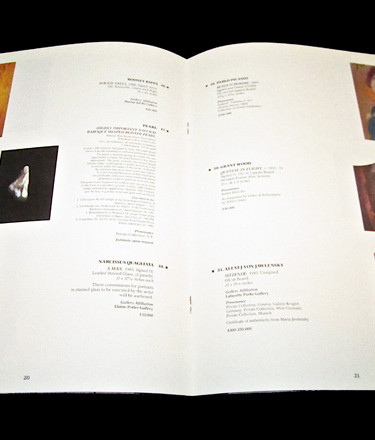 Art Auction Catalog Design and Production
