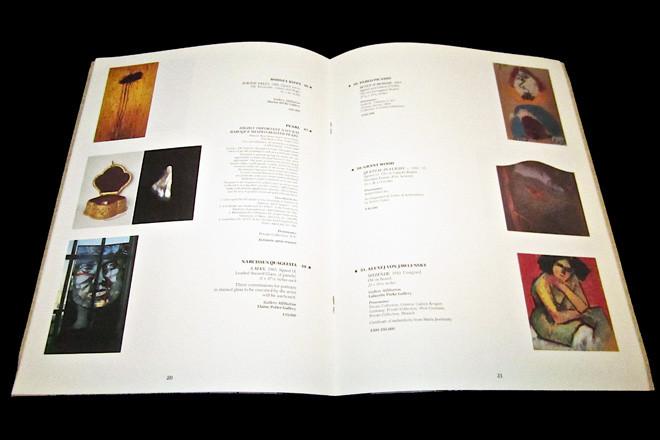 Art Auction Catalog Design and Production