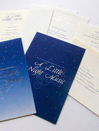 Event Invitation Package Art Direction, Design & Production