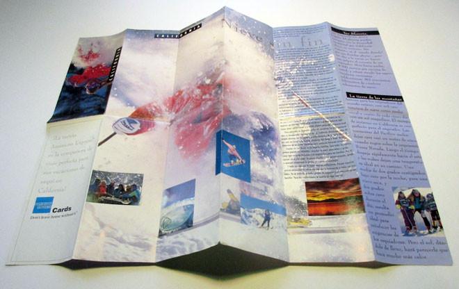 Recreational Travel Brochure Design