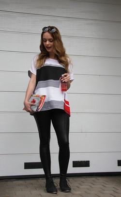 Shirt BLACK STRIPE