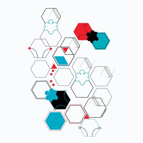 Illustration HoneyBee