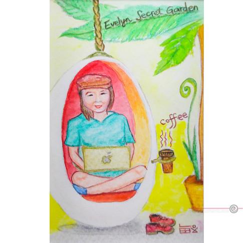 Illustration Secret Garden