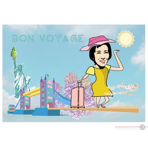 Illustration Bon Voyage
