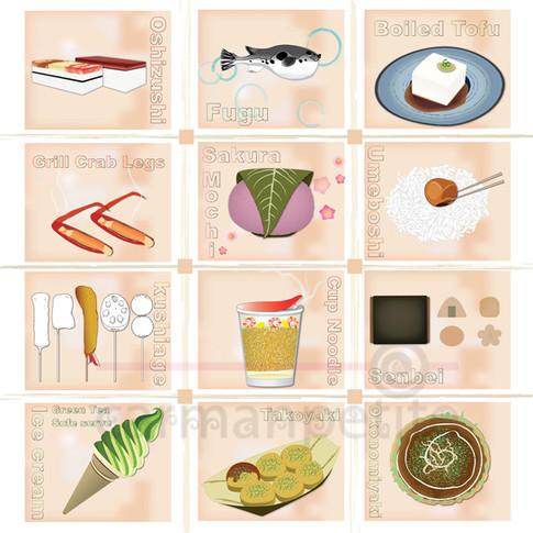 Illustration JP Food