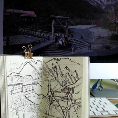 Kamikochi Kappa-bashi Bridge (河童橋 )