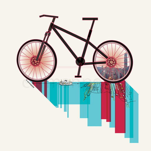 illusPhoto Discover HK bike